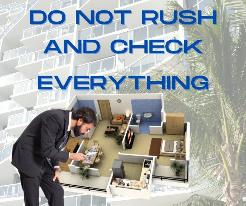Never rush through your Property Defect Management journey