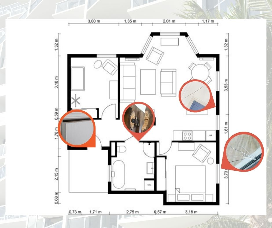Check all the annexes to your SPA for a complete Property Defect Management