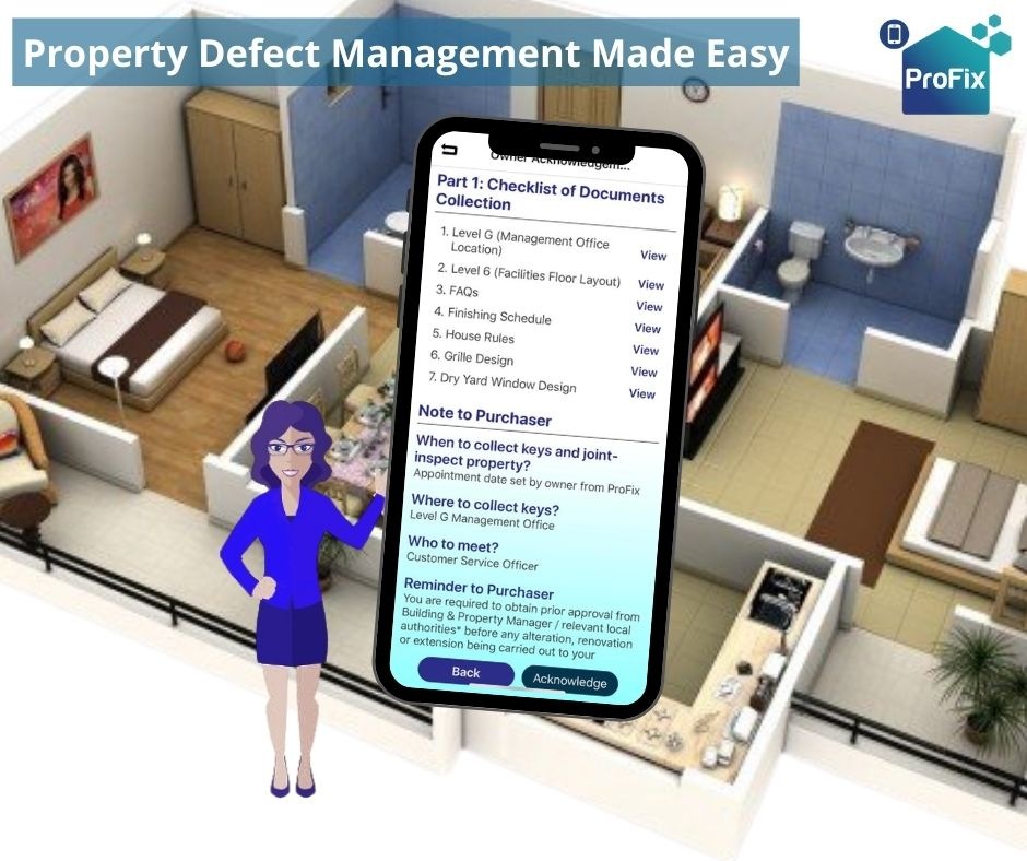 Use ProFix or recommend ProFix to the developer to allow a great Property Defect Management. Check your SPA