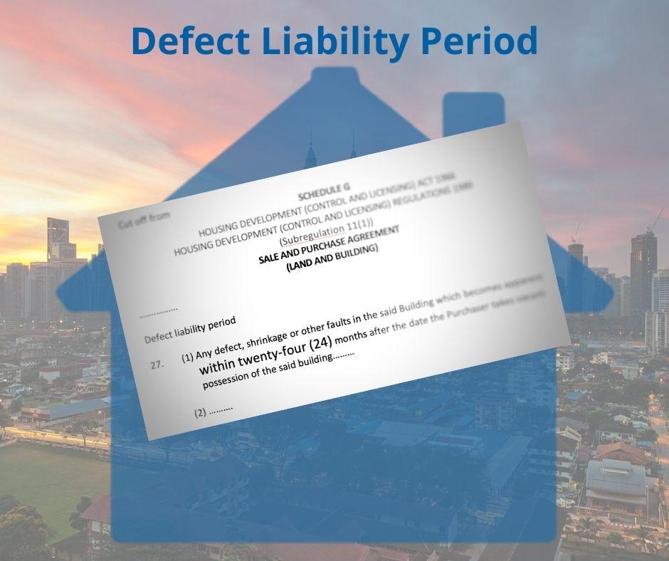 Defect liability