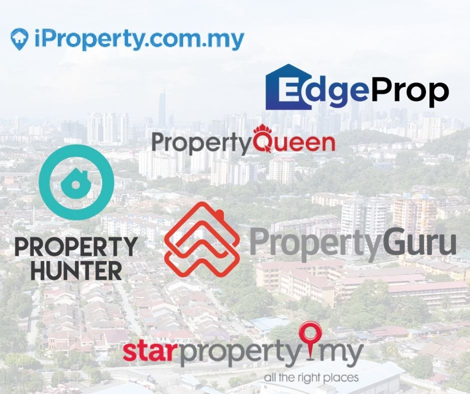 Plenty of online portals are available in Malaysia such as Property Hunter, Property Guru, iProperty and more