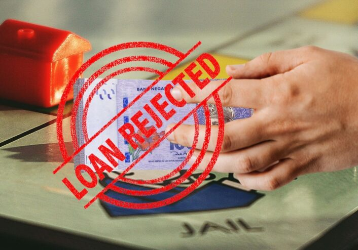 Loan rejection is contributing in killing the property market, time to think and restart the engine!