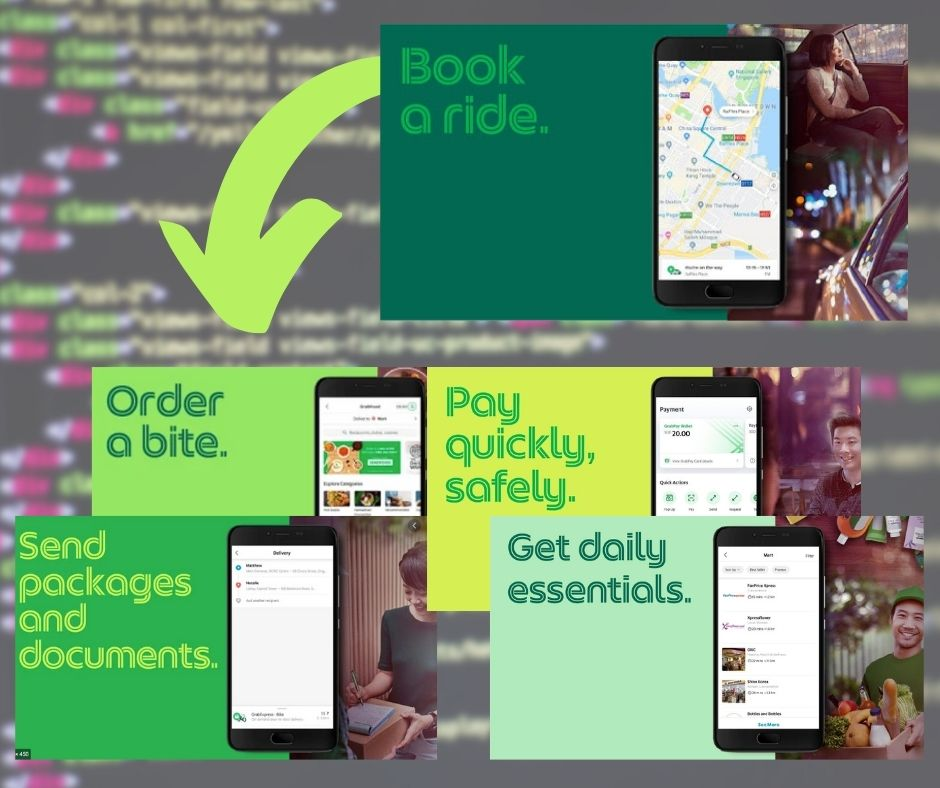 The Data based Success story of Grab is a perfect example of how data, used smartly, can help your business growth