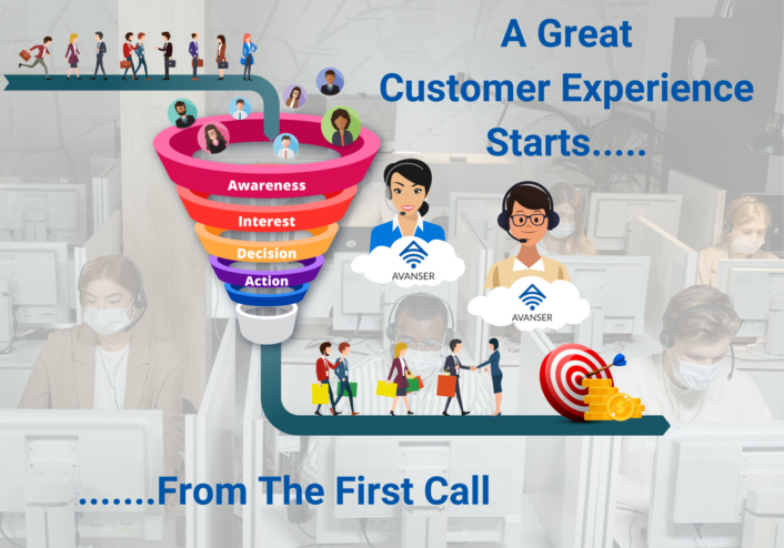 A great customer experience starts with the right call!